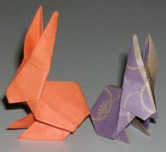 new year origami rabbit 1000 images about origami rabbit on origami