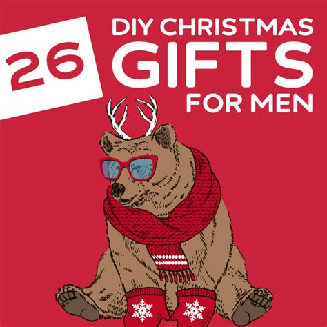 26 homemade christmas gifts for men dodo burd