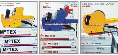 Price Labeller Joyko Mx 5500m Label Harga Sticker Harga 1 label harga price labeller grace fashion manekin