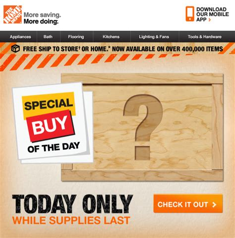deal of the day home depot home design 2017