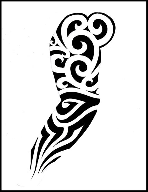 detailed sleeve tattoo designs sleeve designs by shepush on deviantart