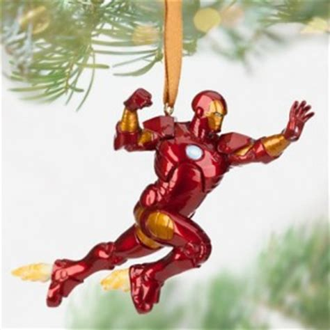 iron man christmas ornament superhero collection
