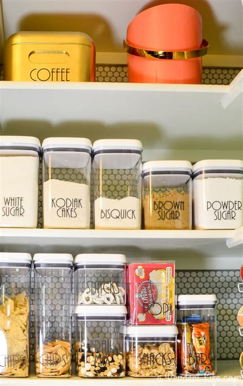 Pantry Organization Containers by Pantry Organization Source List A Prudent
