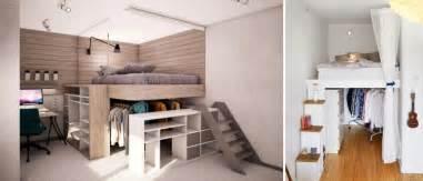 Charmant Chambre Adulte Petit Espace #5: lit-mezzanine-adulte-parquet-massif-blanc-neige-plafond.jpg