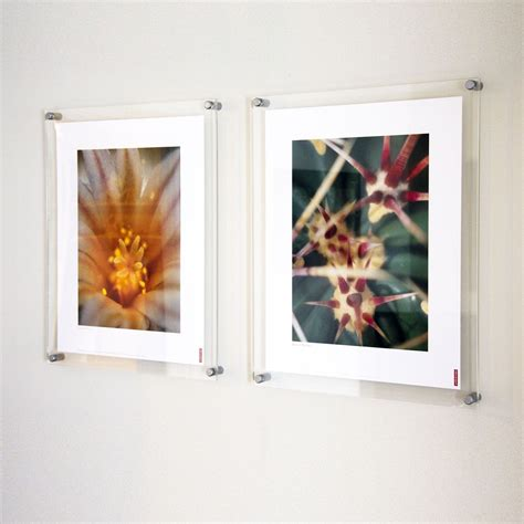 Fotos An Wand Befestigen by Wall Mounted Acrylic Photo Frames Poster Kits