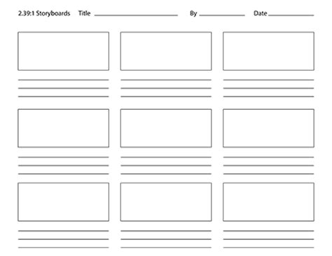photoshop storyboard template pin 16 9 storyboard gif on