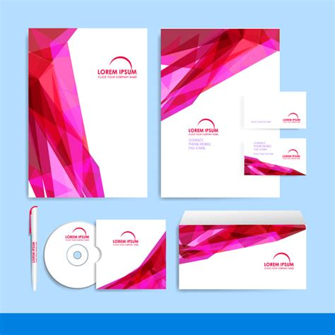 leaflet design ai company brochure design template free vector in adobe