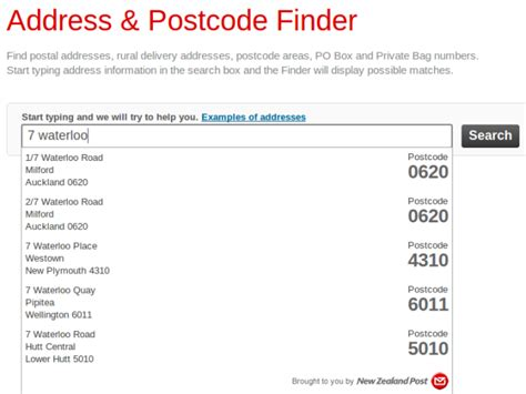 Postcode Lookup The New Address Postcode Finder One Month On Postmodern