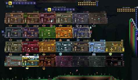 terraria npc house terraria perffict house for all npcs google search tearraria pinterest all
