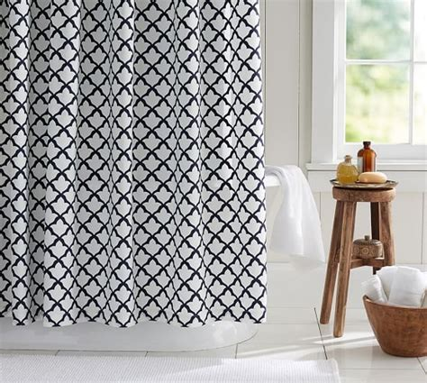 Organic Shower Curtain Liner by Marlo Organic Shower Curtain Pottery Barn