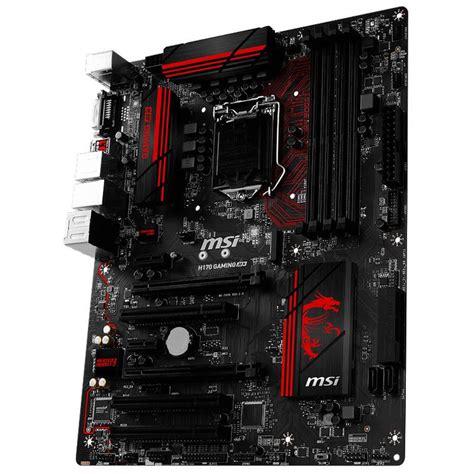 Msi Motherboard Lga 1151 H170 Gaming M3 msi h170 gaming m3 lga 1151 motherboard h170 gaming m3 mwave au