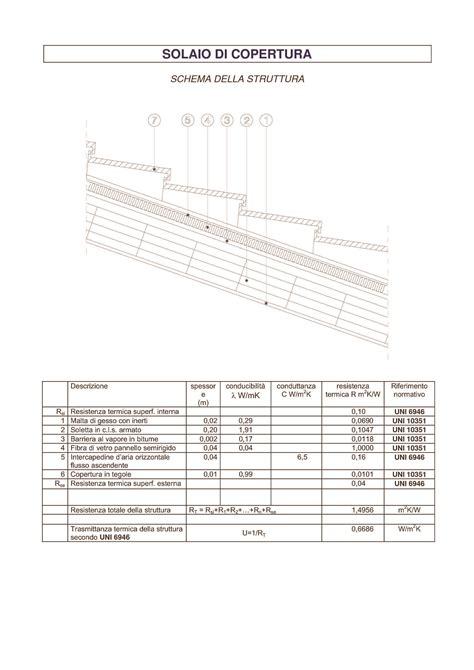 architettura tecnica dispense solaio di copertura dispense
