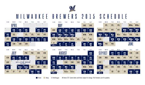 printable brewers schedule printable milwaukee brewers schedule 2014 autos post