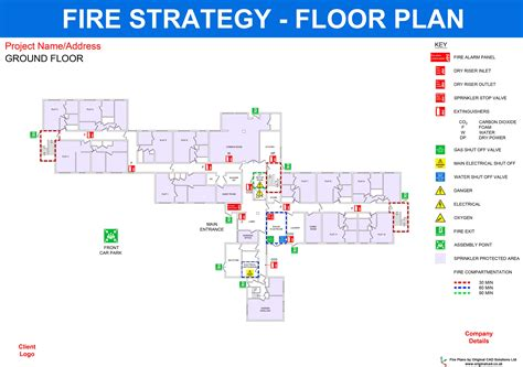 strategy plan layout fire alarm certificate template uk choice image