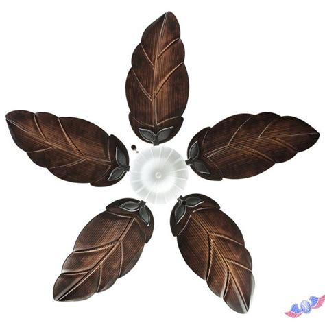 ceiling fan with leaf shaped blades bring in style and comfort with hton bay nassau ceiling
