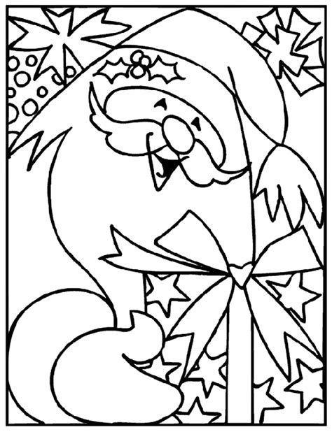 coloring pages christmas crayola christmas santa with gifts crayola ca