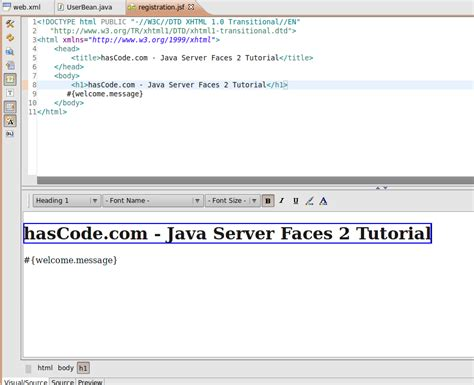tutorial java faces hascode com 187 blog archive 187 java server faces jsf 2