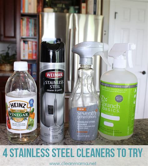 how to clean stainless steel appliances clean mama