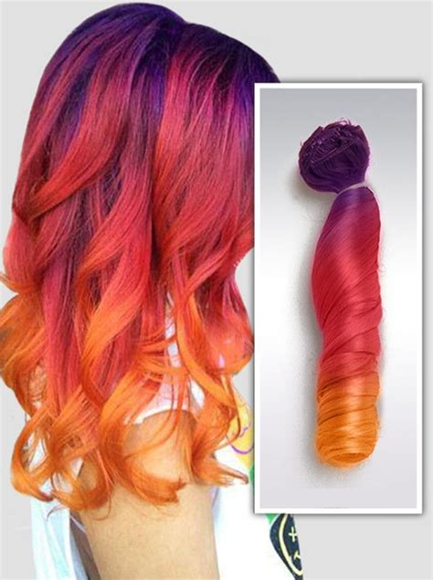 colorful ombre 20 galaxy hair color ideas the breathtaking