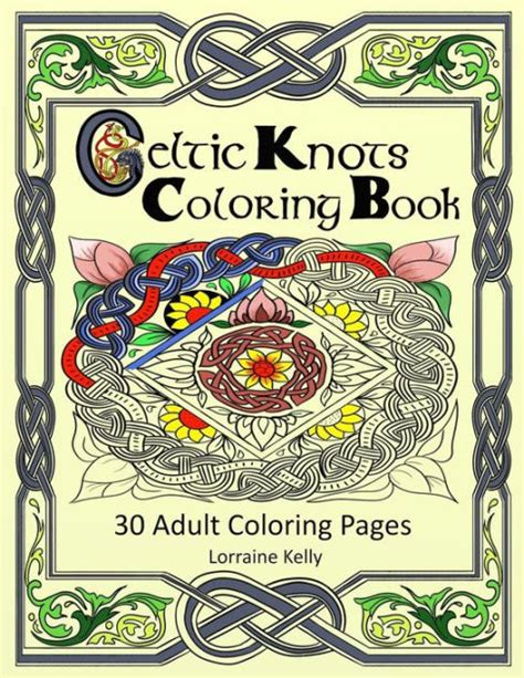 coloring book for adults barnes and noble celtic knots coloring book 30 coloring pages by mrs
