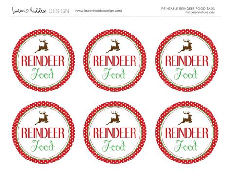 printable reindeer chow gift tag reindeer food mix and match mama