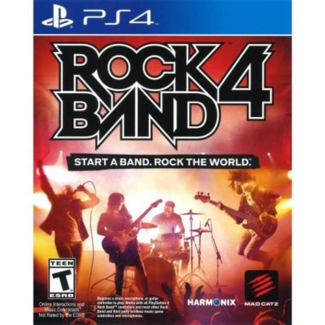 Ps4 Rock Band 4 Bundle Stratocaster rock band 4 wireless fender stratocaster guitar bundle