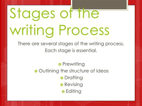 Stages Of Writing An Essay by Business Butler Stages Of Academic Writing Process