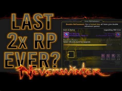 neverwinter rank enchantment upgrade pc xbox ps