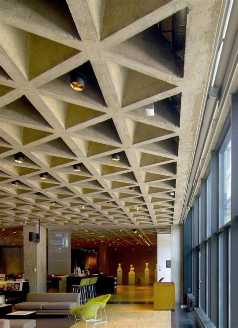 Modern Coffered Ceiling Designs by 71 Best Images About Kahn Yale On Stirling