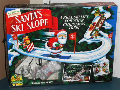 sold out mr christmas santa s ski slope mechanical