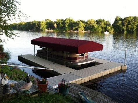 boat canopy skirts 40 best images about boat lift on pinterest lakes decks