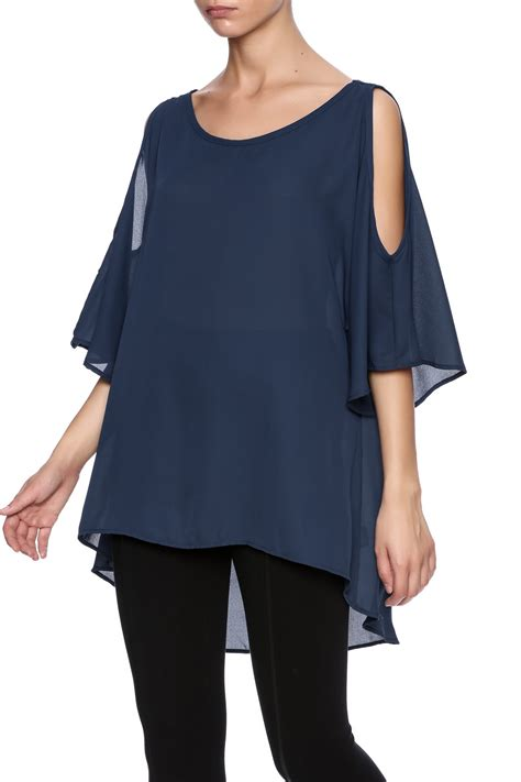 Cold Shoulder Tunic ezra cold shoulder tunic from arizona by clothes minded