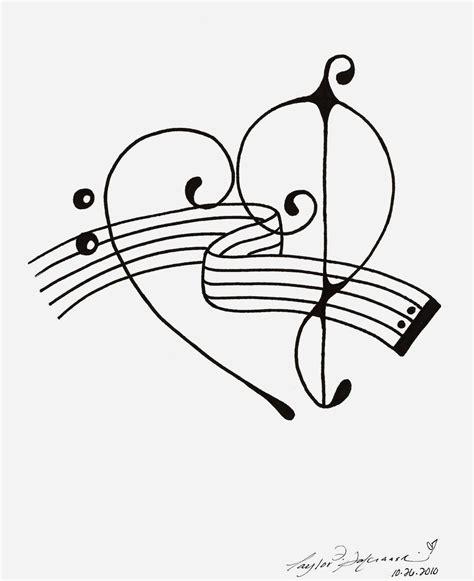 treble and bass clef tattoo bass treble clef by minoritsuki on deviantart