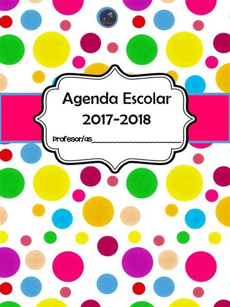 agenda escolar 2017 18 maria agenda escolar 2017 2018 1 imagenes educativas