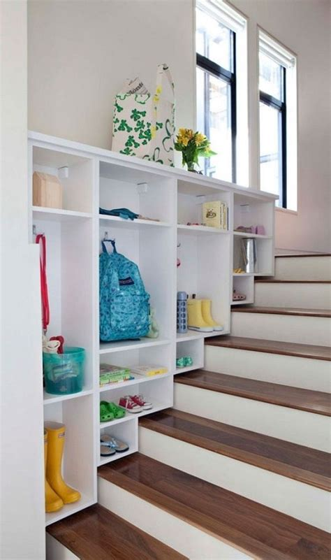 stairs with storage split level homes ideas and inspiration