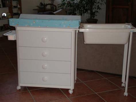 meuble a langer baignoire meuble baignoire table a langer grossesse et b 233 b 233