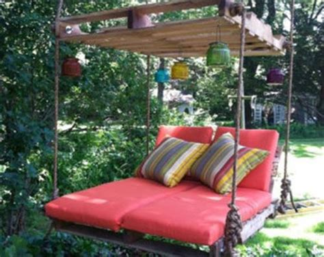 bed swing made from pallets diy beautiful pallet swings ideas pallets designs