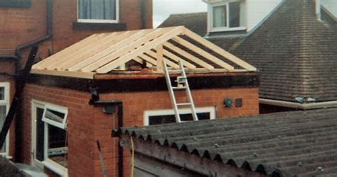 Pitched Roof To Flat Roof A Changing To A Flat Roof Pitched Roof Pictures To Pin On