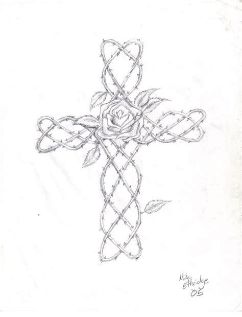 cross with vines tattoo vine cross by kilvex on deviantart