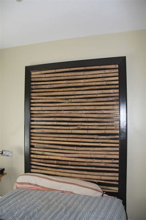 Bamboo Headboard by 1000 Ideas About Bamboo Headboard On Faux