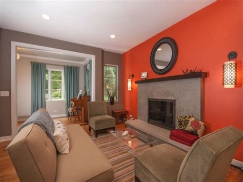 turquoise curtains and couches in living room paint colors orange color paint living