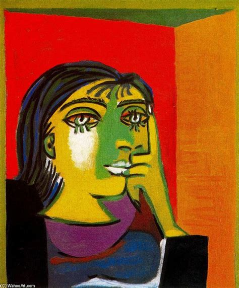 picasso paintings copyright portrait of maar 1 by pablo picasso 1881 1973