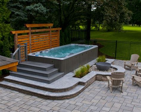 backyard spa hydropool aqua trainer swim spa www hydropoolmanchester