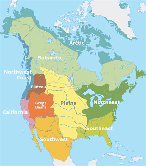 canadian map of indian tribes american tribes maps america