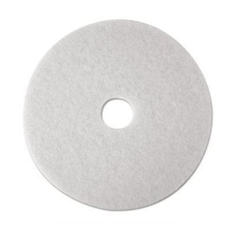 3m White Pad 4100 17 Inch Floor Buffing Pad 18 quot 3m white polishing pads low speed floor buffing pads 4100 mmm08482