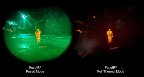 The Blind Slide Fuseir Fused Night Vision Monocular Thermoteknix Systems Ltd