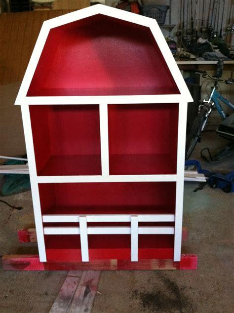 ana white barn bookshelf diy projects