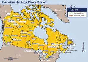 canada map with rivers and lakes environment and climate change canada water rivers
