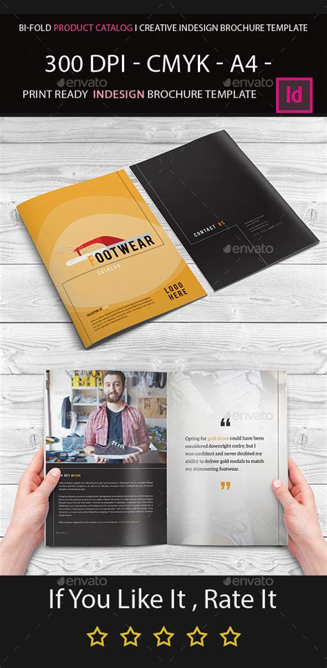 bi fold brochure template indesign bi fold product catalog i creative indesign brochure