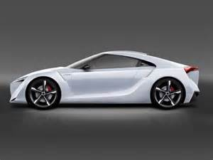 new cars design new modification toyota ft hs concept luxury car design